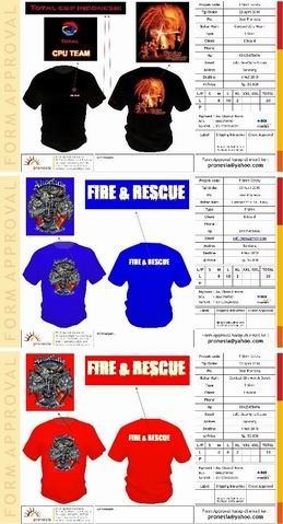 Rotation of T-Shirt Safety